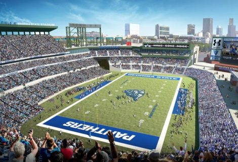 Turner Field Officially Belongs to Georgia State and Development Team